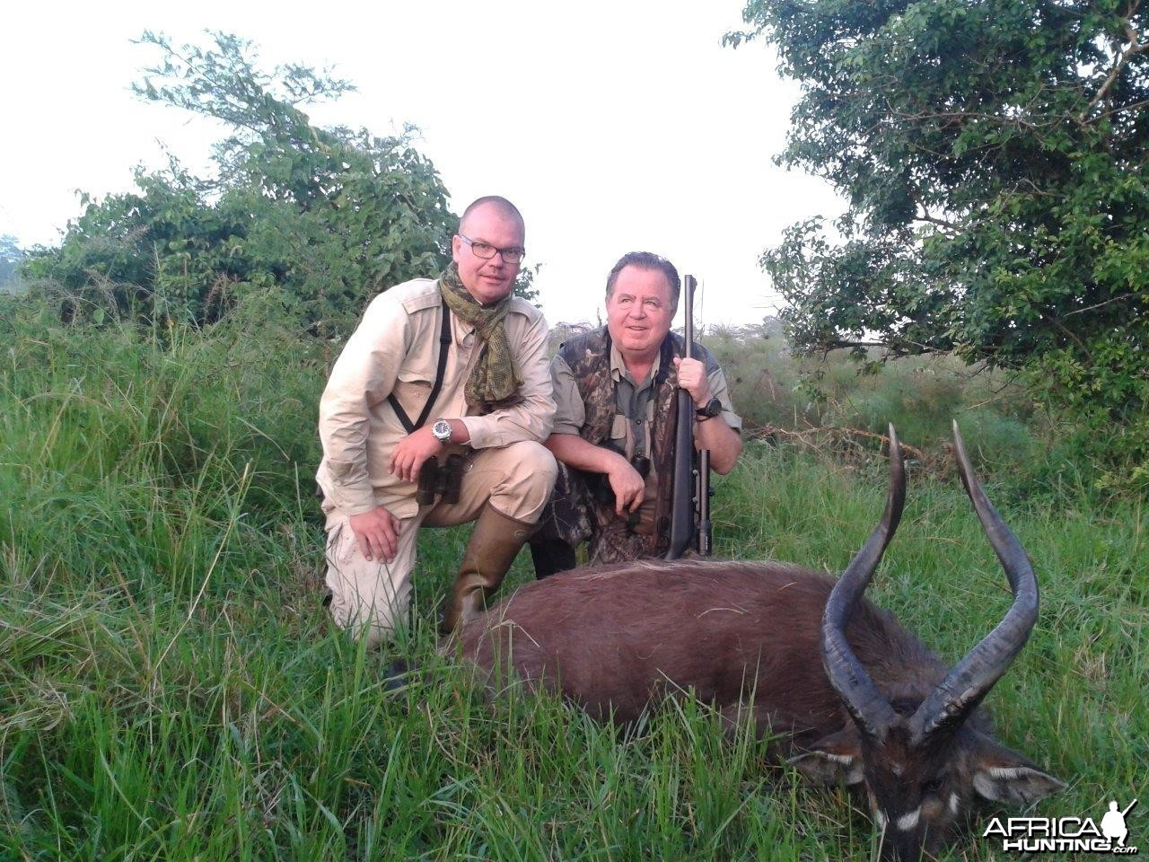 Hunting Uganda East African Sitatunga