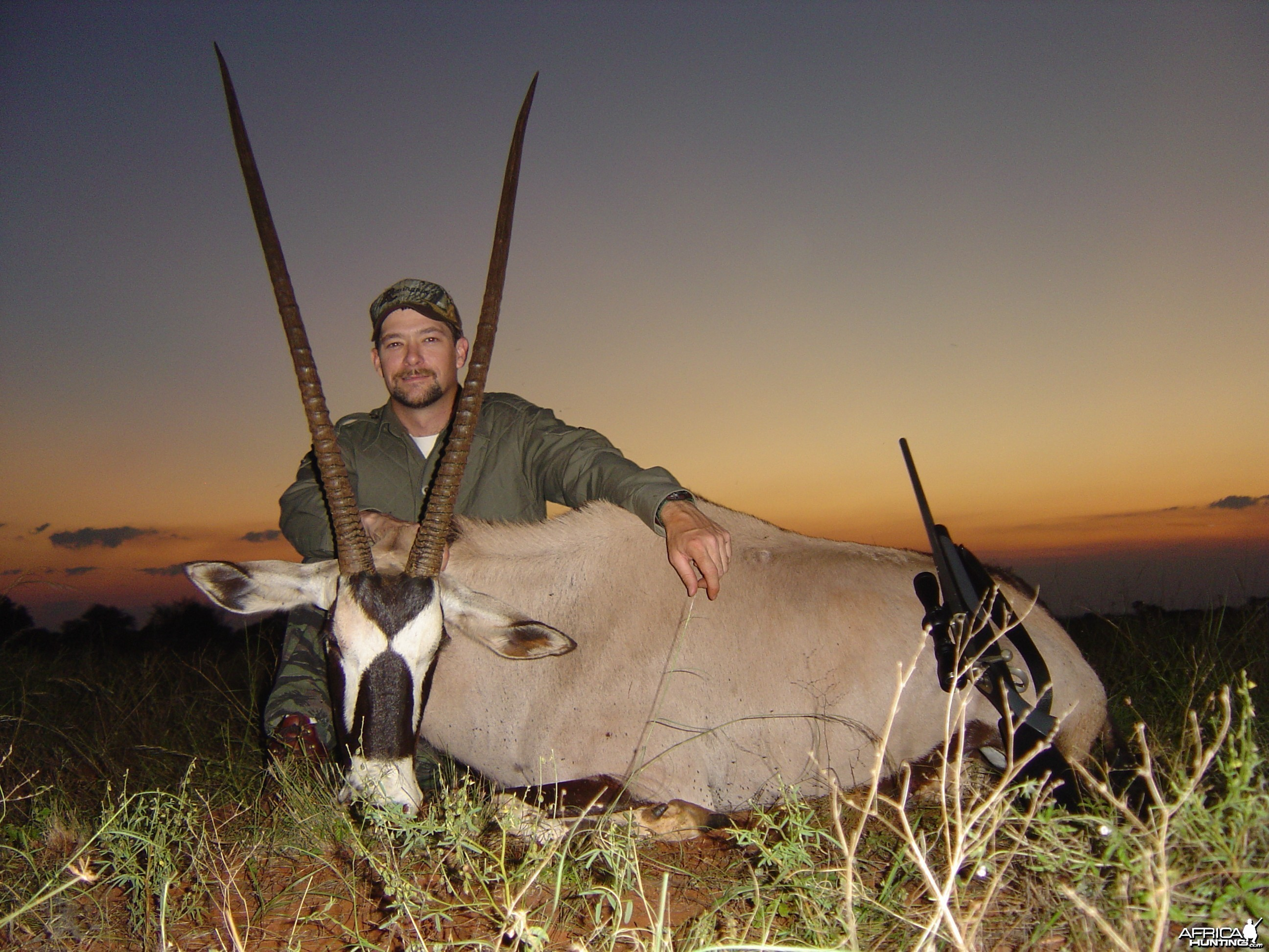 2006, my first trophy taken in South Africa.