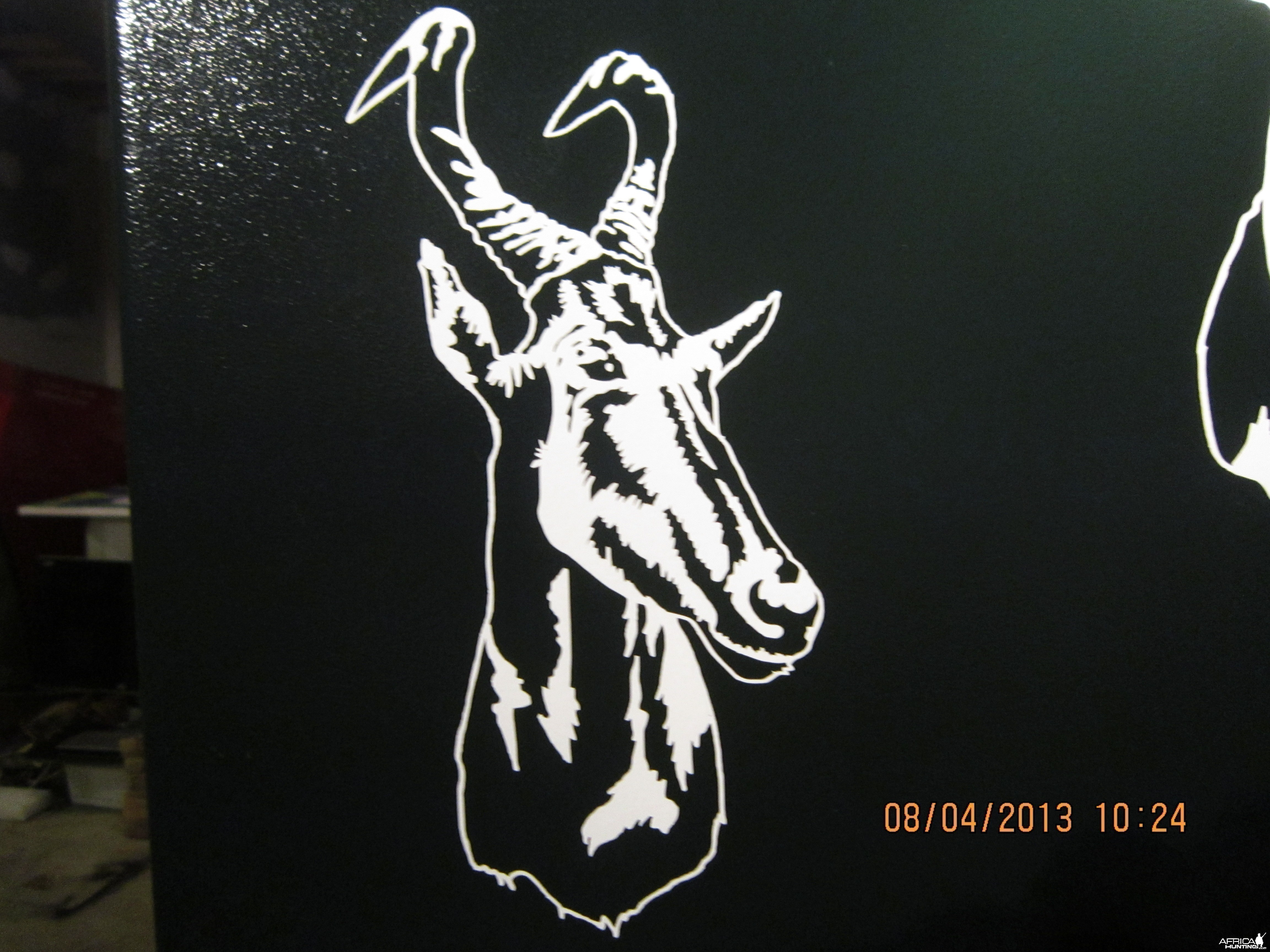 Hartebeest Decal Stickers