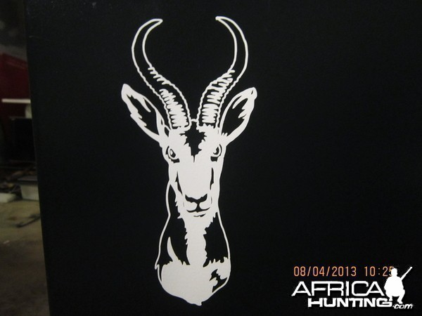Springbok Decal Stickers