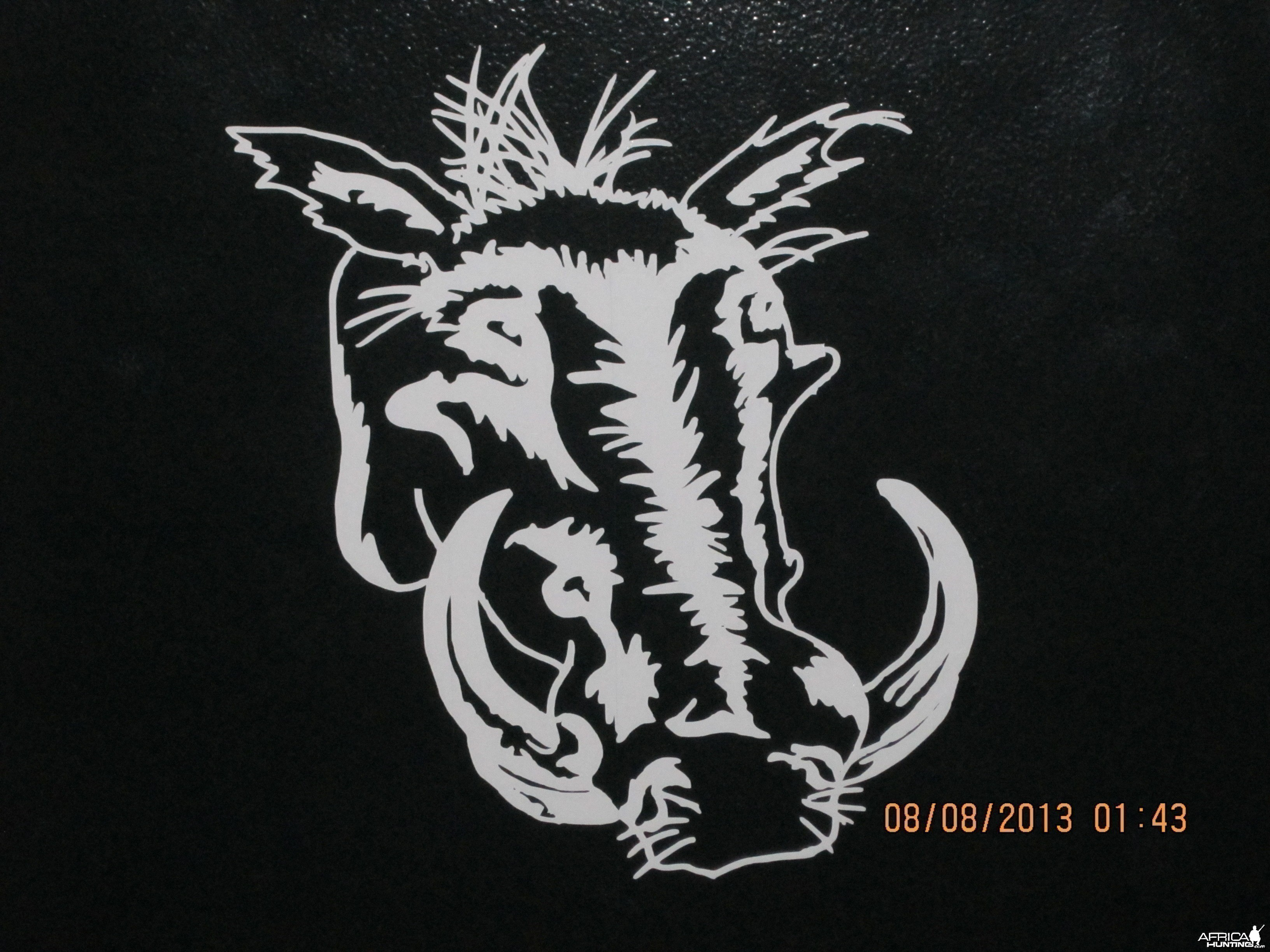 Warthog Decal Stickers