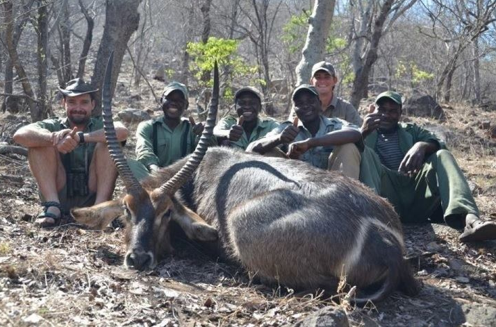 My waterbuck and the A-team... Savuli, 2011