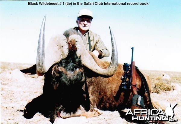 Number one (ties) Black Wildebeest SCI