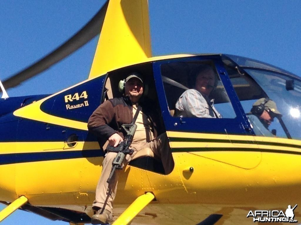 Helicopter Pig eradication hunts Texas