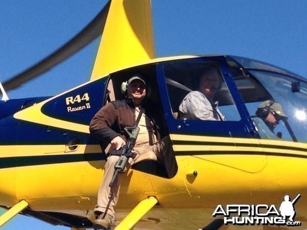 Helicopter Pig eradication hunts Texas