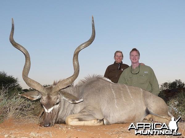 Kudu hunt with Wintershoek Johnny Vivier Safaris