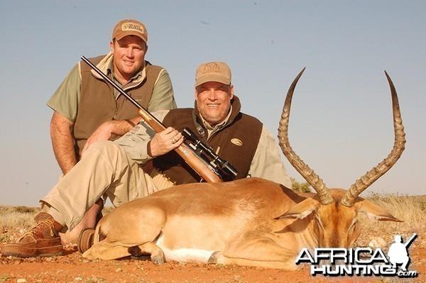 Impala hunt with Wintershoek Johnny Vivier Safaris