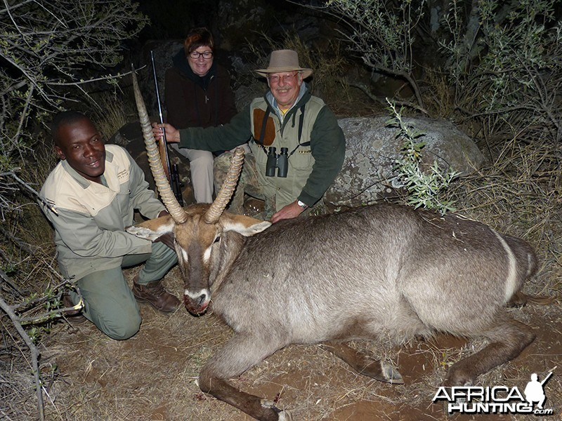 Waterbuck hunt with Wintershoek Johnny Vivier Safaris