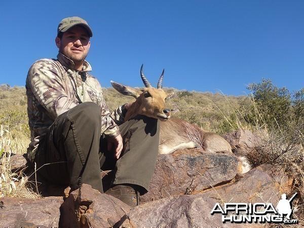 Reedbuck hunt with Wintershoek Johnny Vivier Safaris