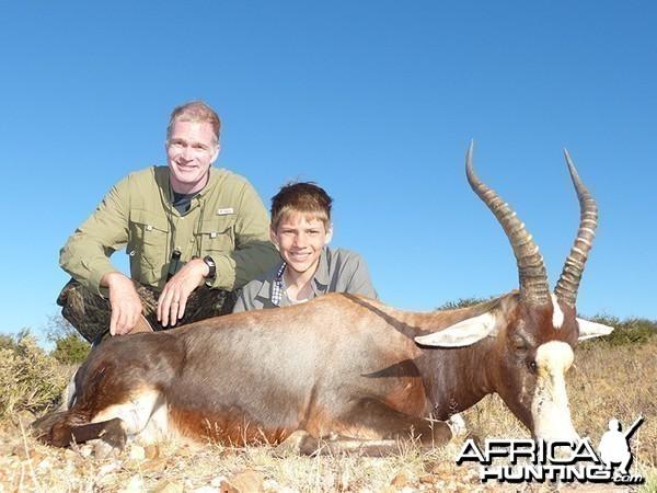 Blesbok hunt with Wintershoek Johnny Vivier Safaris