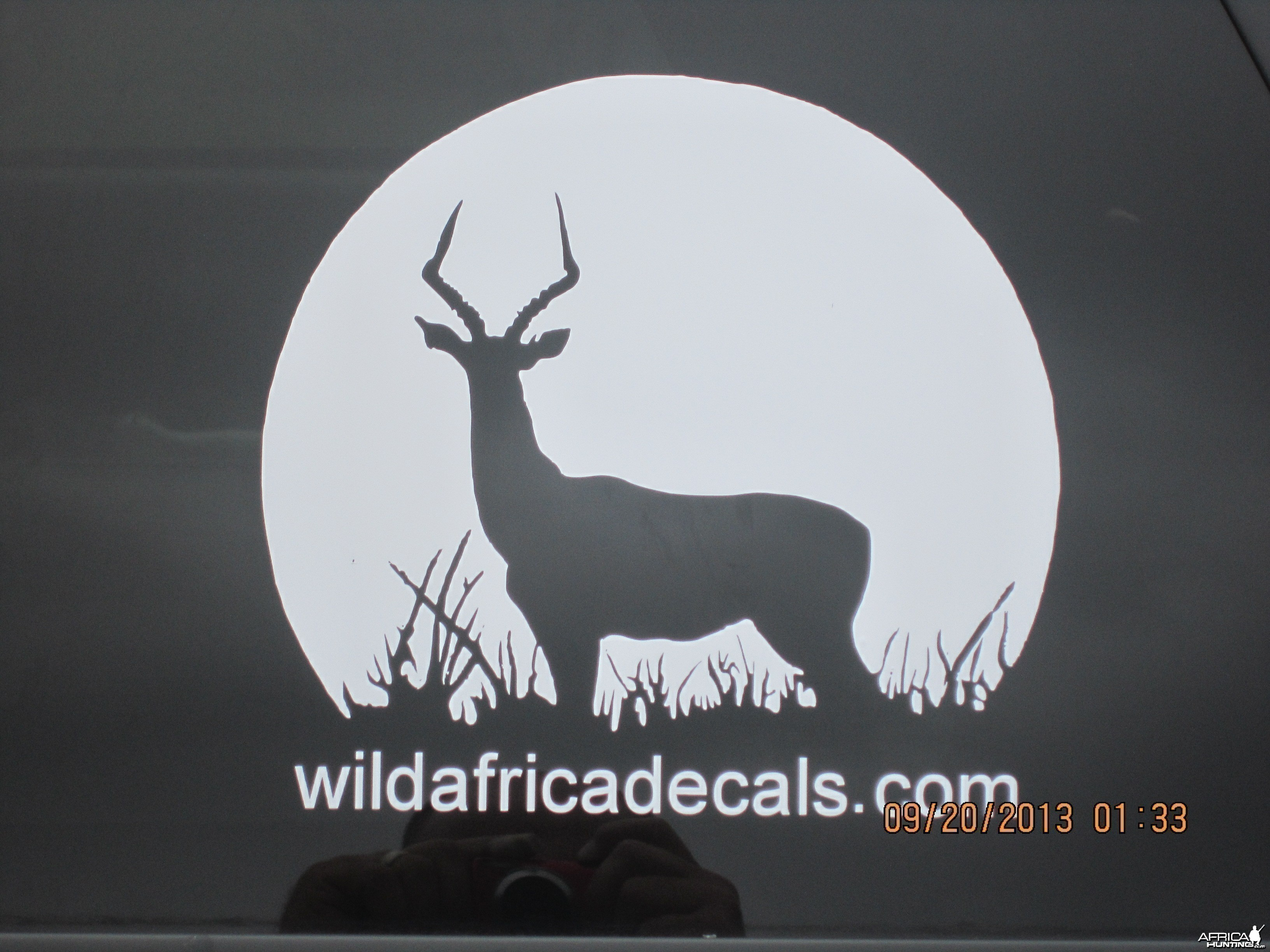 Silhouette Impala Decal Stickers