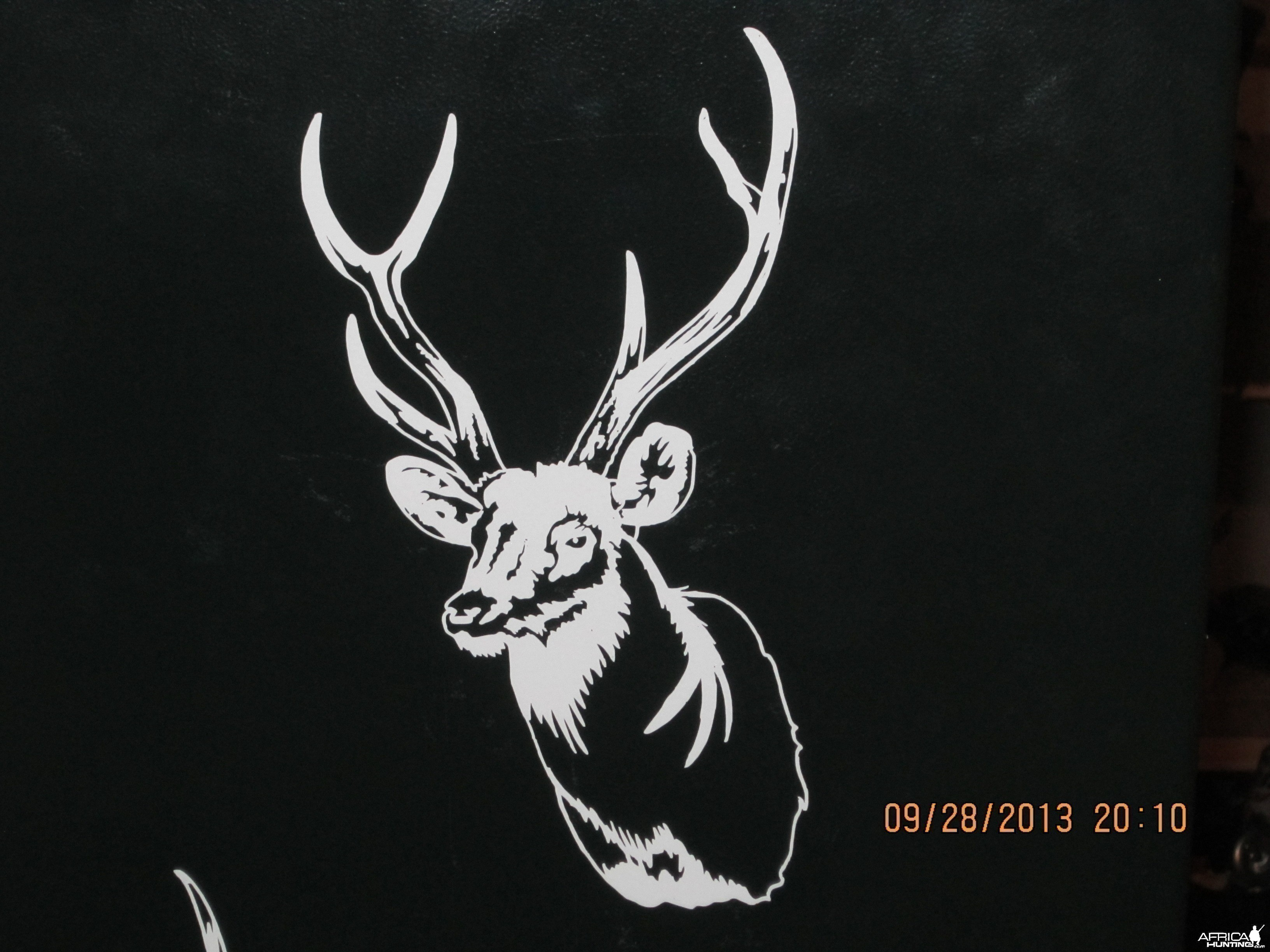 Sambar Deer Decal Stickers
