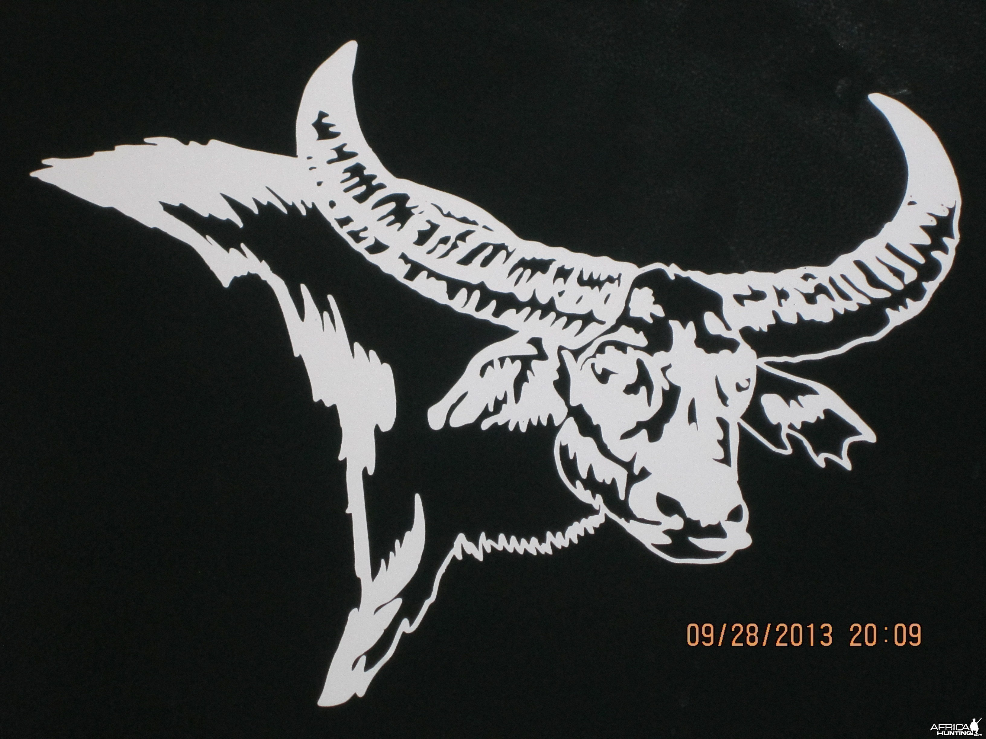 Water Buffalo Decal Stickers