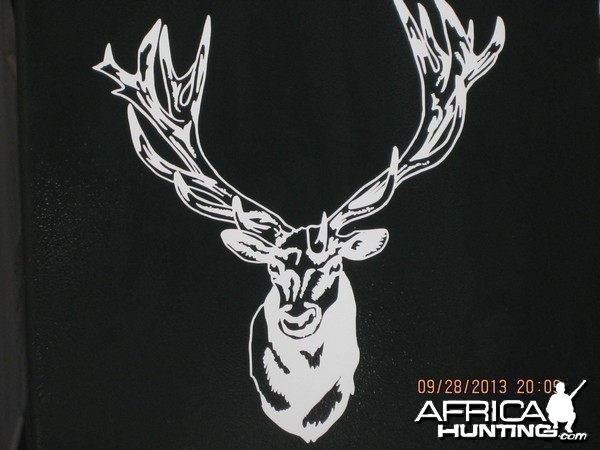 Red Stag Decal Stickers
