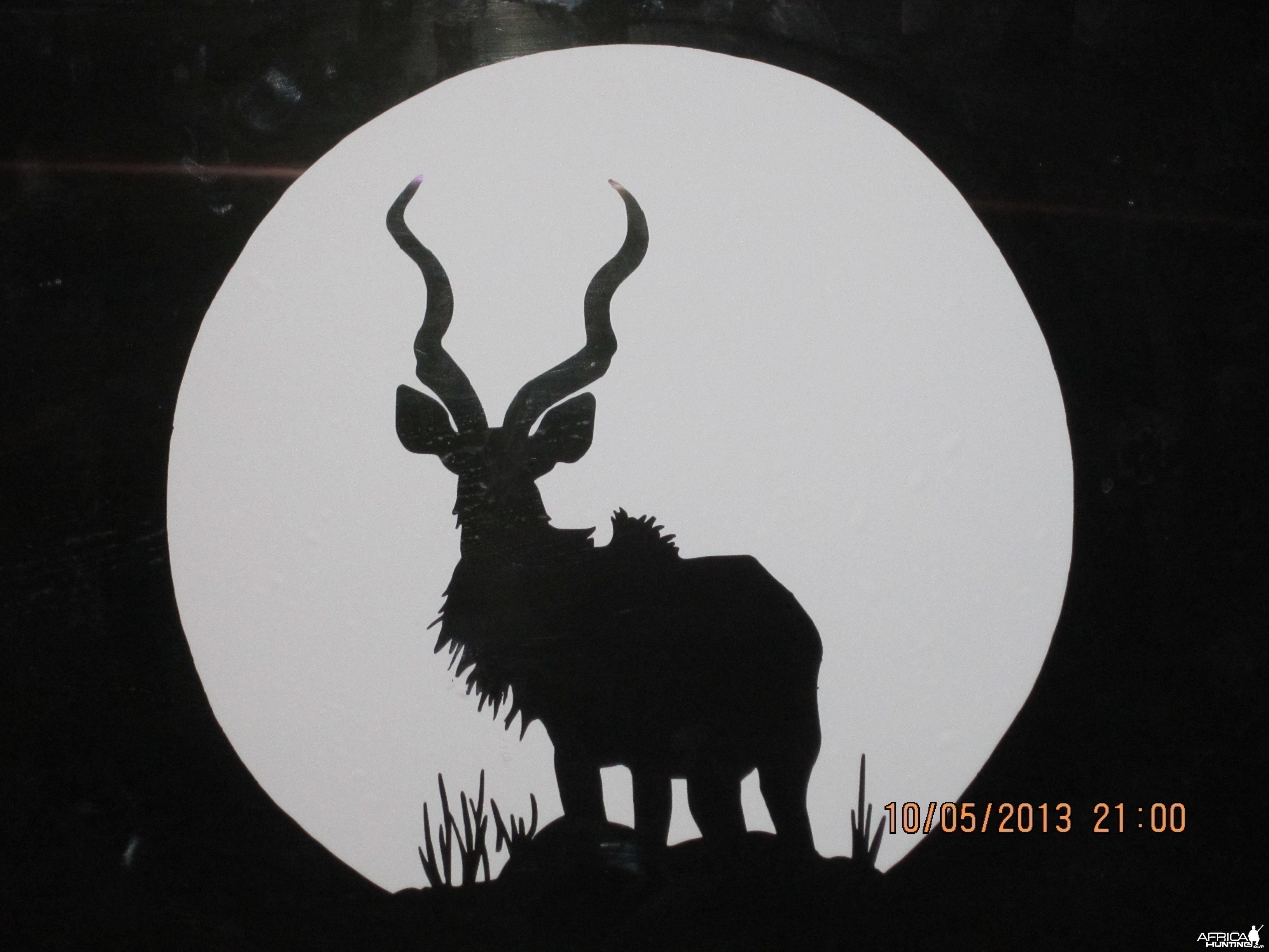 Kudu Decal Stickers