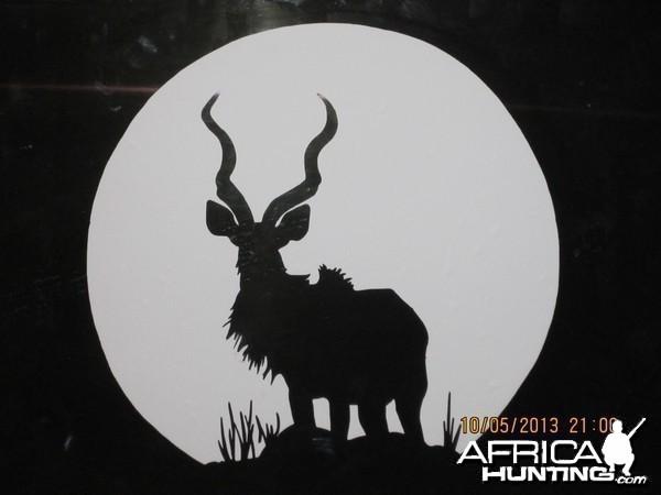 Kudu Decal Stickers