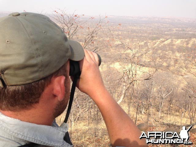 Overlooking Hwange From View Top
