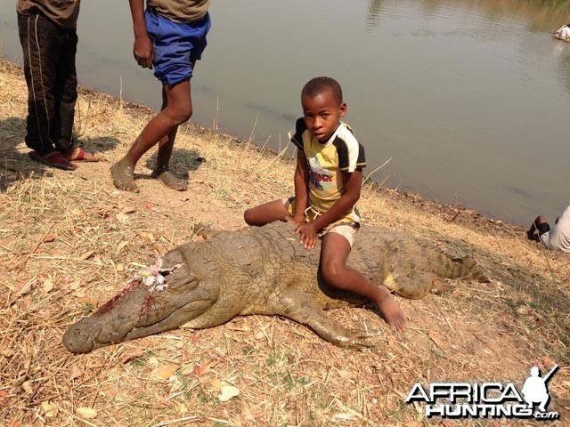 Croc That Killed His Brother