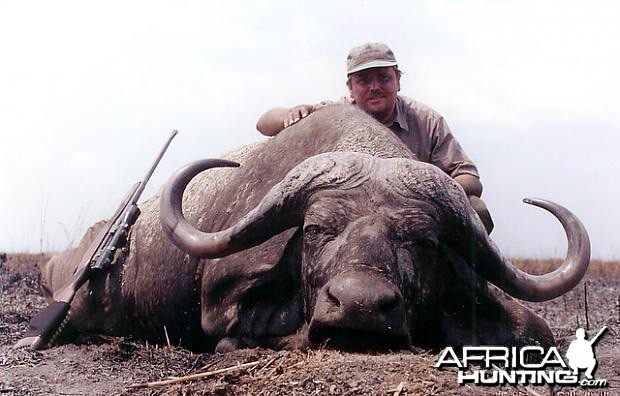 Hunting Cape Buffalo in Tanzania - 40 inch
