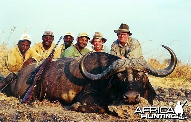 Hunting Cape Buffalo in Tanzania - 41 inch