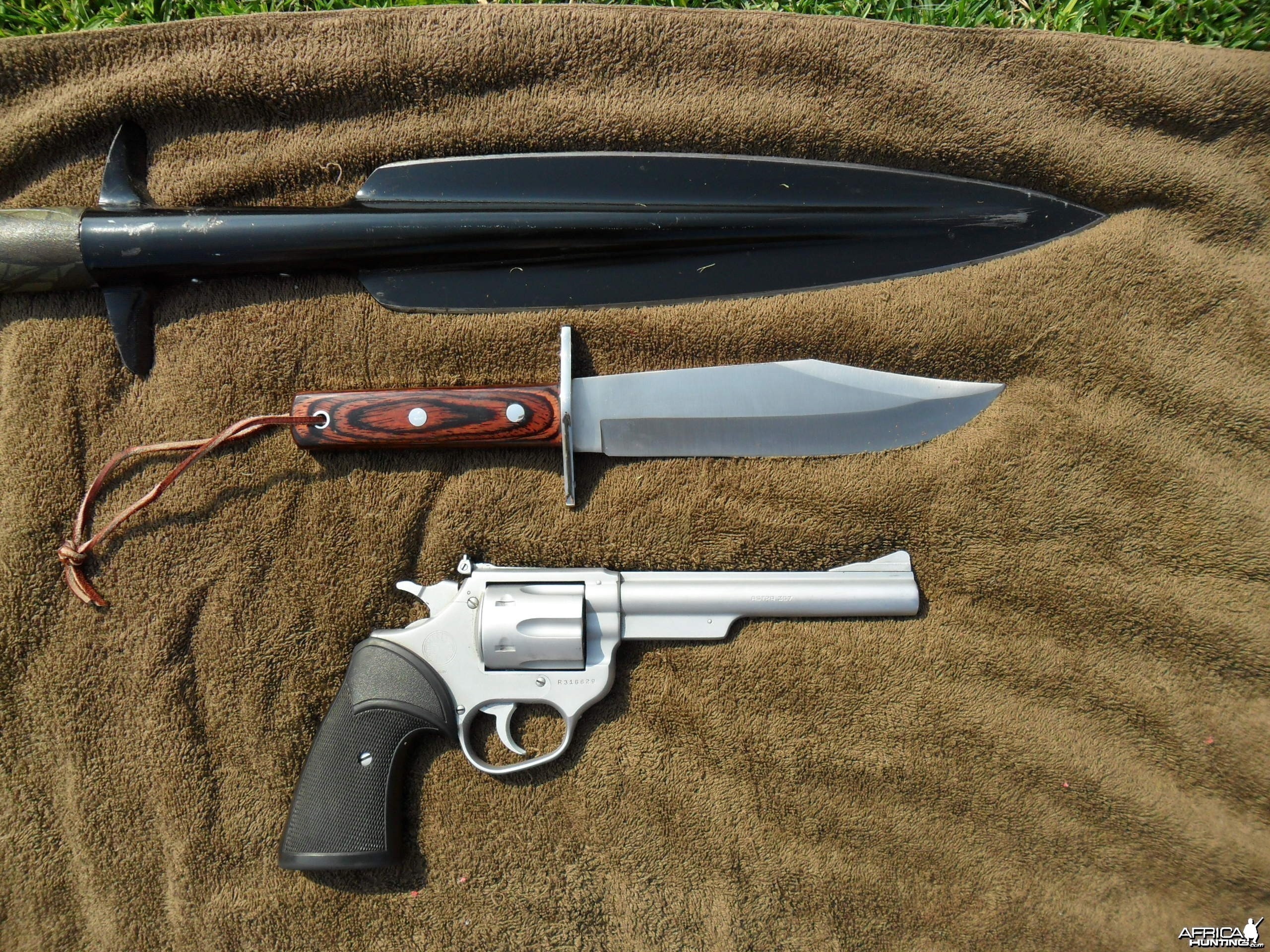 My adventurous hunting kit...