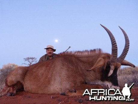 Roan hunt with Wintershoek Johnny Vivier Safaris