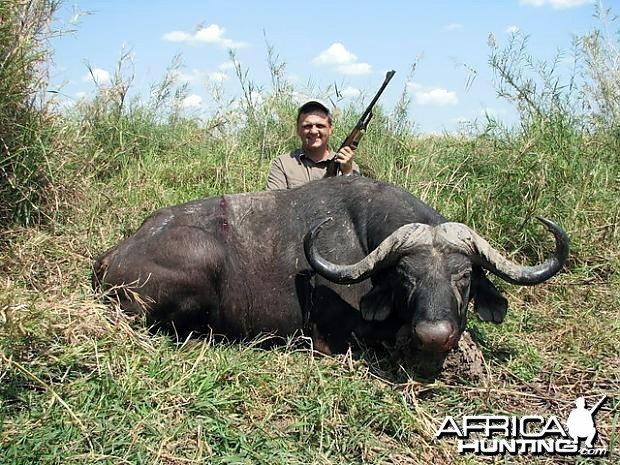 Hunting Cape Buffalo in Tanzania - 43 inch