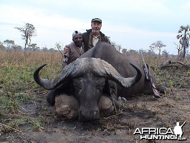 Hunting Cape Buffalo in Tanzania - 44 inch
