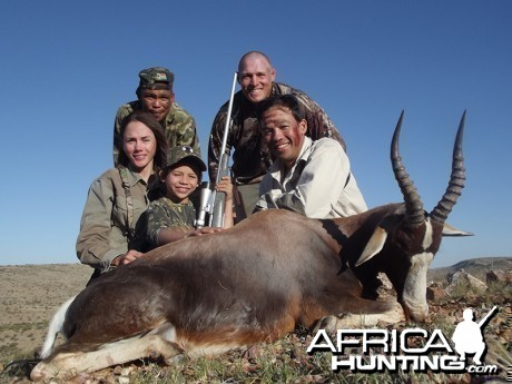 Blesbok hunt with Wintershoek Johnny Vivier Safaris
