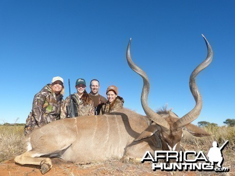 Kudu hunt with Wintershoek Johnny Vivier Safaris