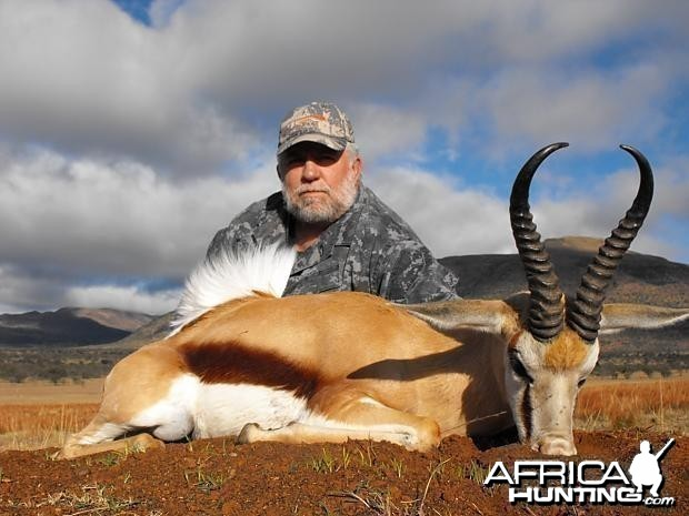 Bowhunting Springbok South Africa