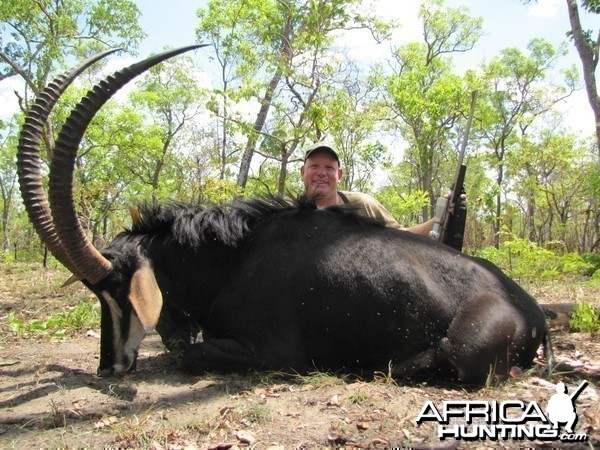 Reinhard with his good Mozambique Sable