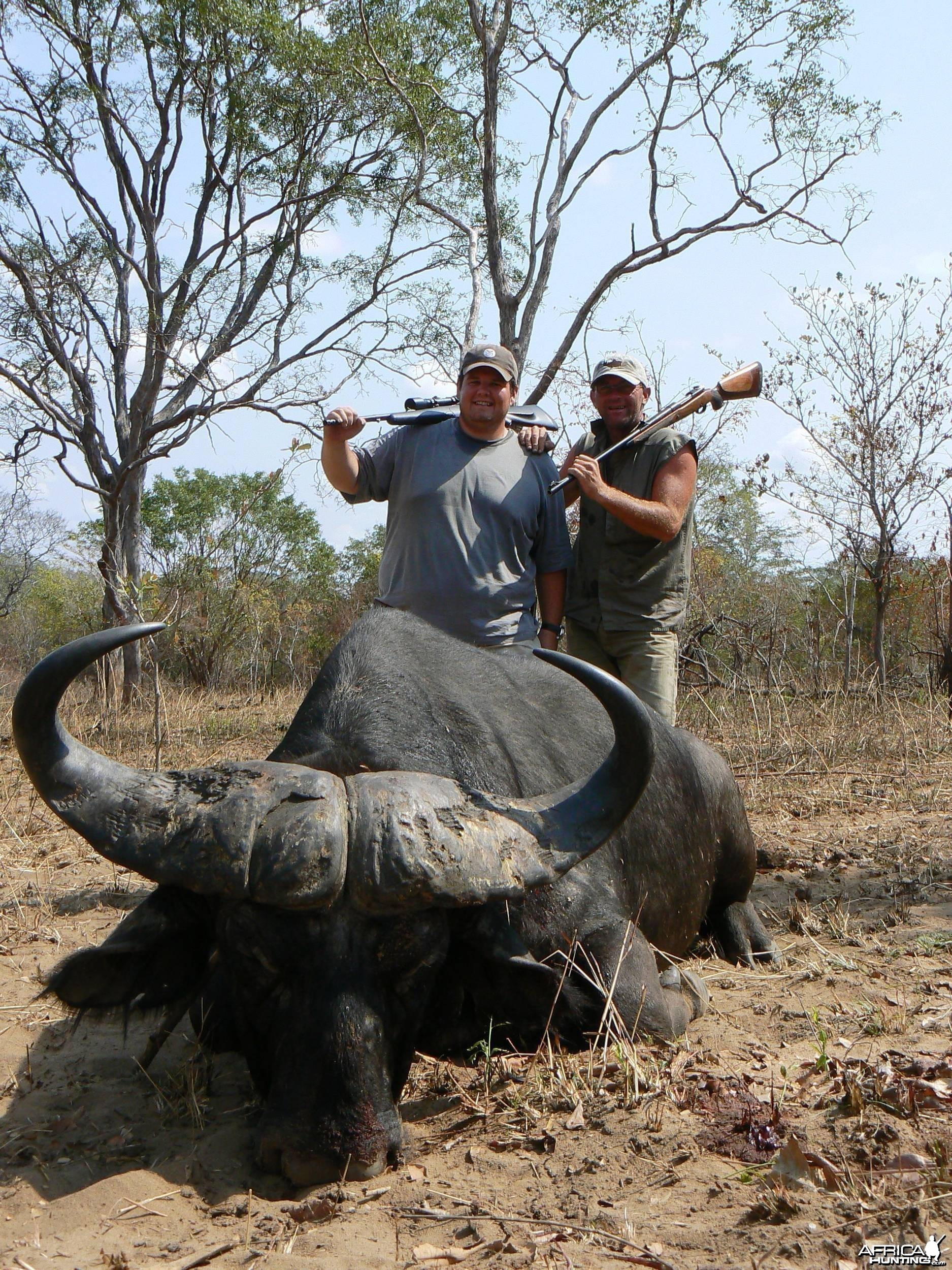 One shot kill......... Buffalo Tanzania