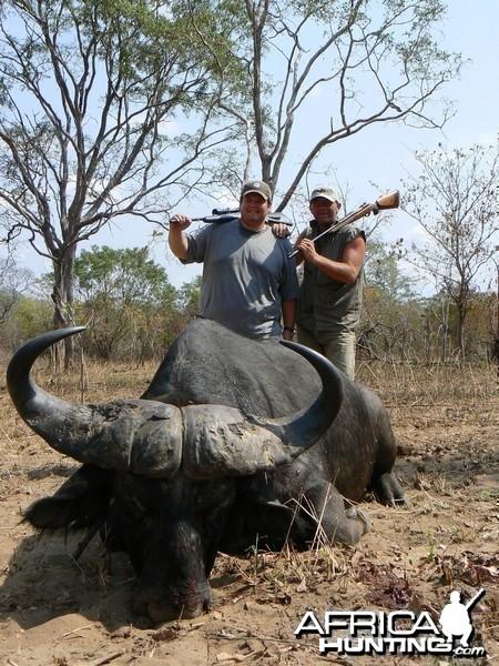 One shot kill......... Buffalo Tanzania
