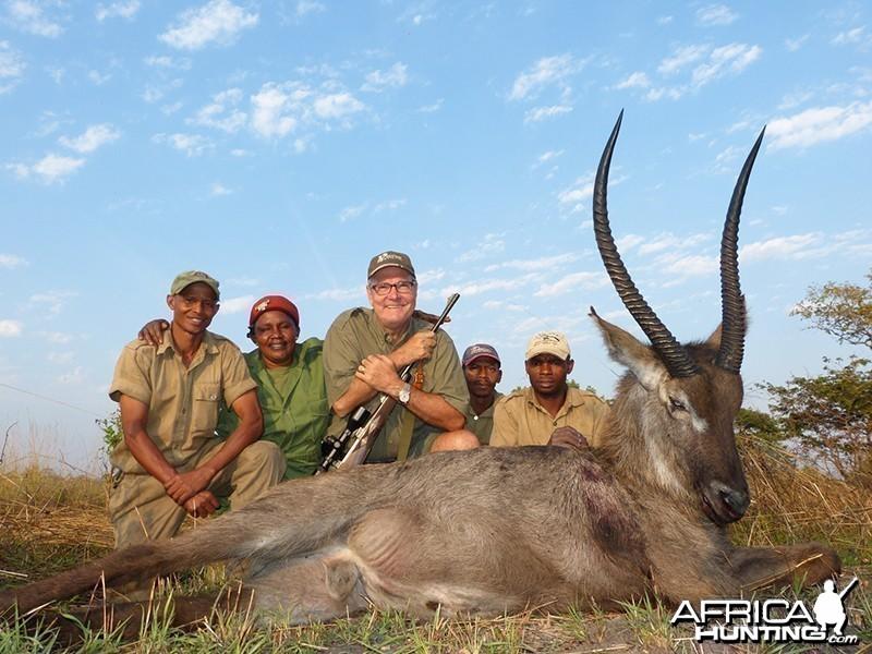 Waterbuck hunt with Wintershoek Johnny Vivier Safaris