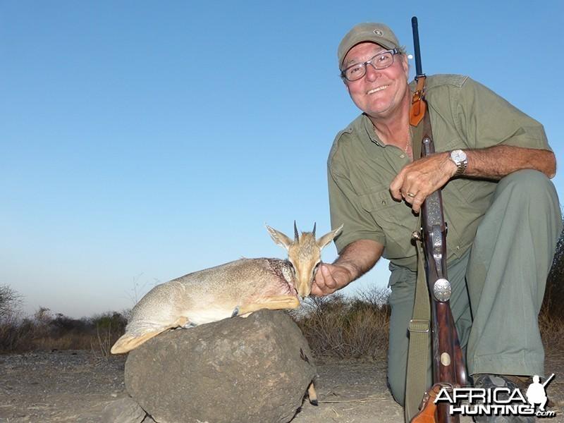 Dik Dik hunt with Wintershoek Johnny Vivier Safaris