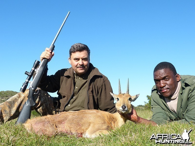 Oribi hunt with Wintershoek Johnny Vivier Safaris