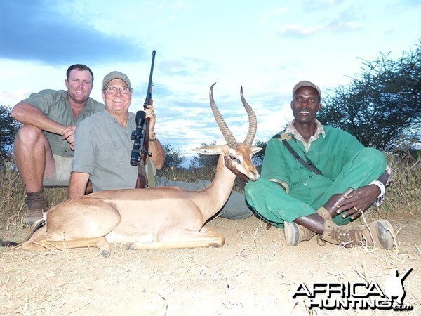 Gerenuk hunt with Wintershoek Johnny Vivier Safaris