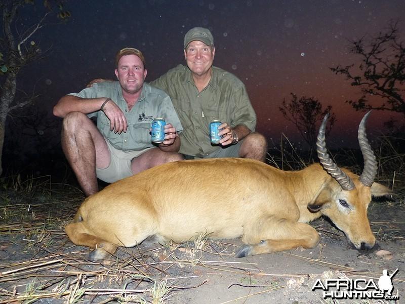 Puku hunt with Wintershoek Johnny Vivier Safaris