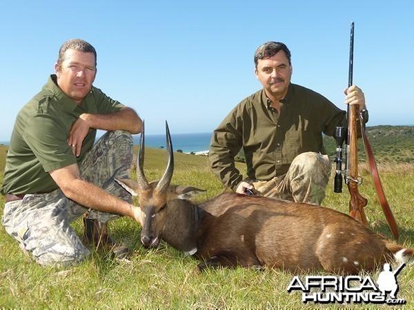 Bushbuck hunt with Wintershoek Johnny Vivier Safaris