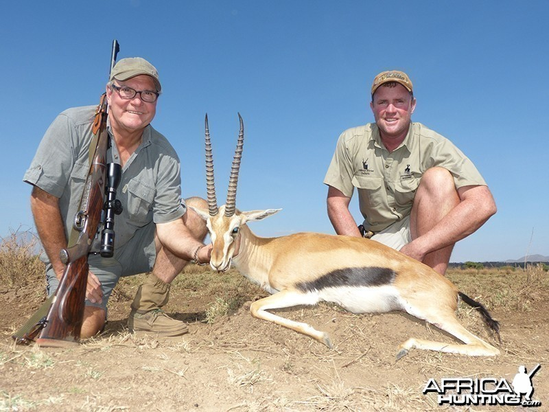 Thompson Gazelle hunt with Wintershoek Johnny Vivier Safaris