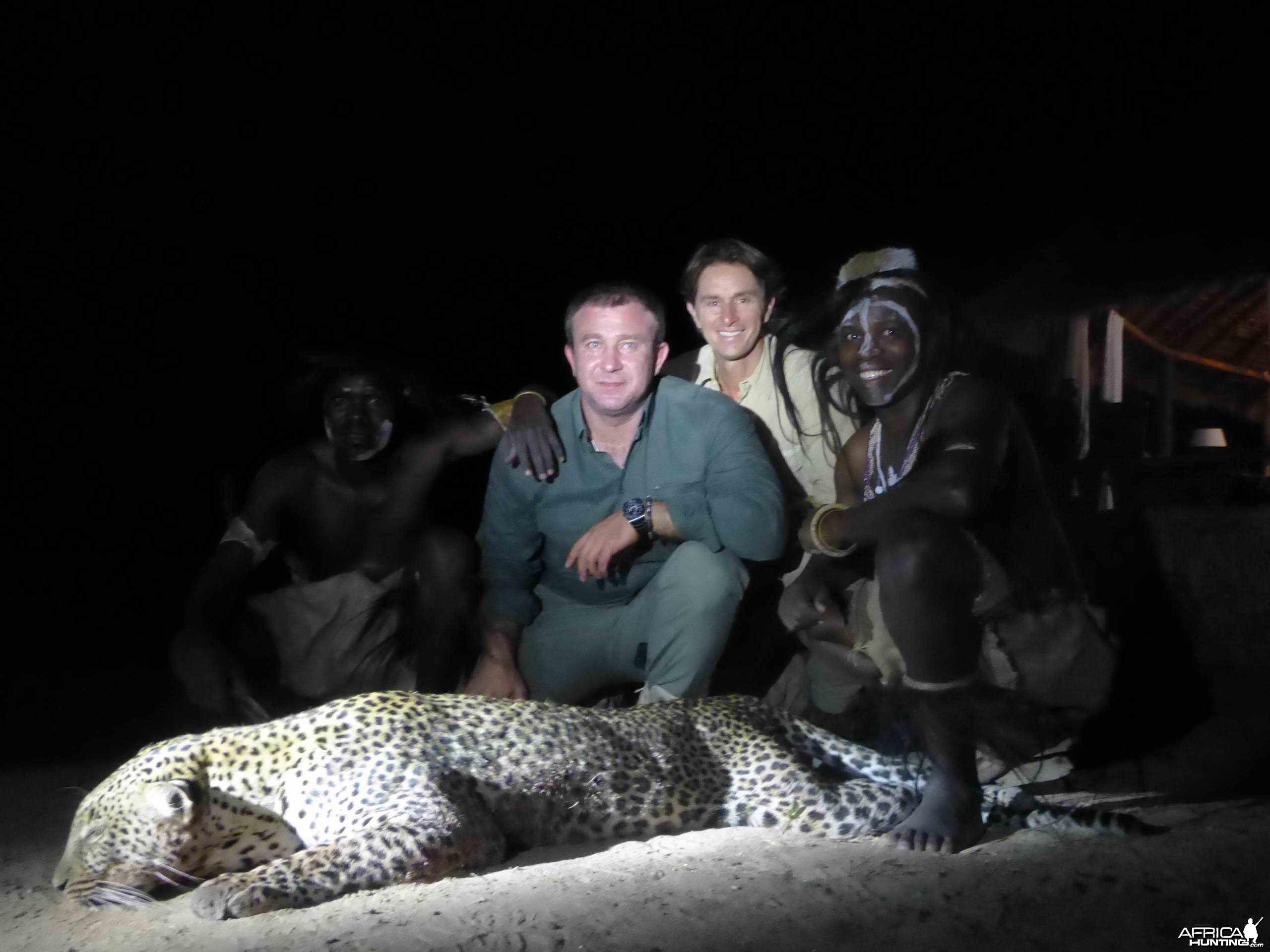 Leopard Tchui Selous