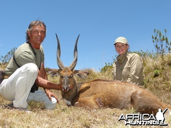 Bushbuk hunt with Wintershoek Johnny Vivier Safaris