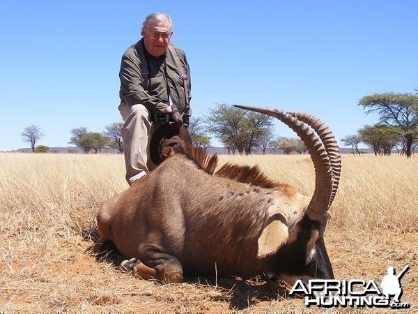 Roan hunt with Wintershoek Johnny Vivier Safaris