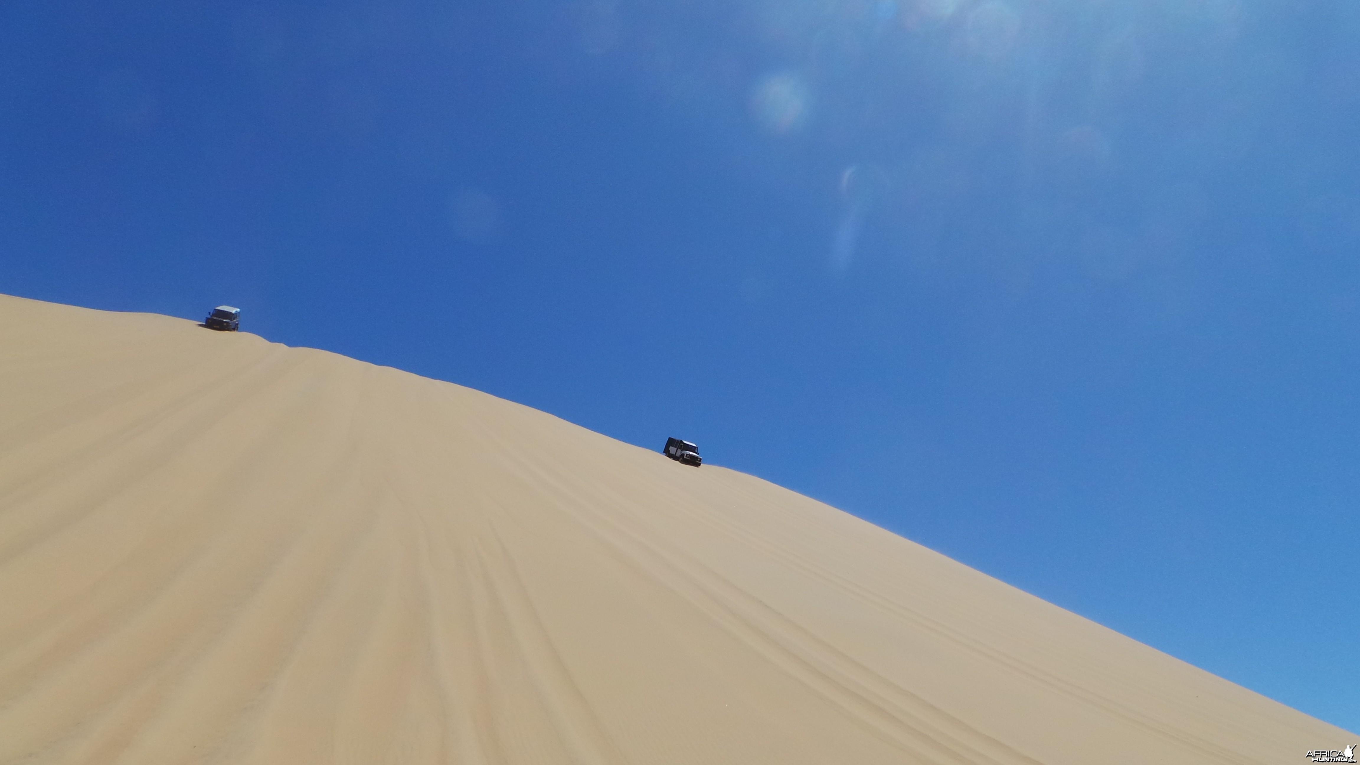 Dune Sandwich Harbor Namibia