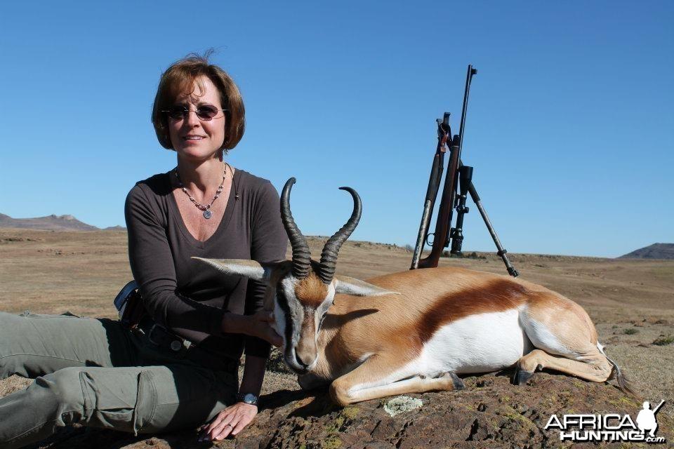 Springbok Taken in Stormberg