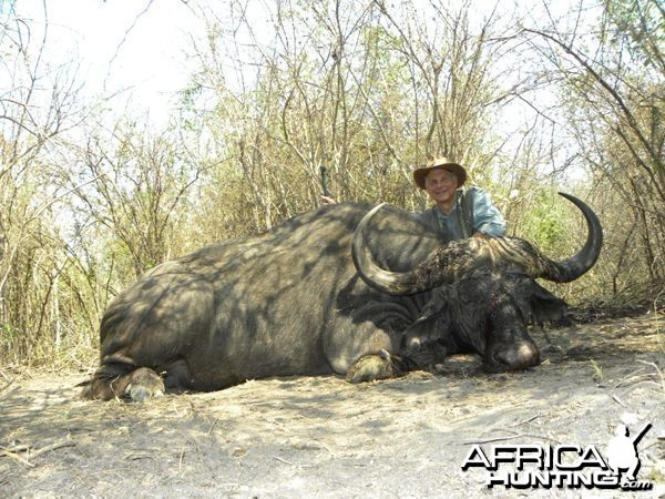 Caprivi buffalo hunt - Jim's Buff