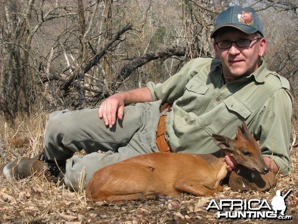 Hunting Red Duiker