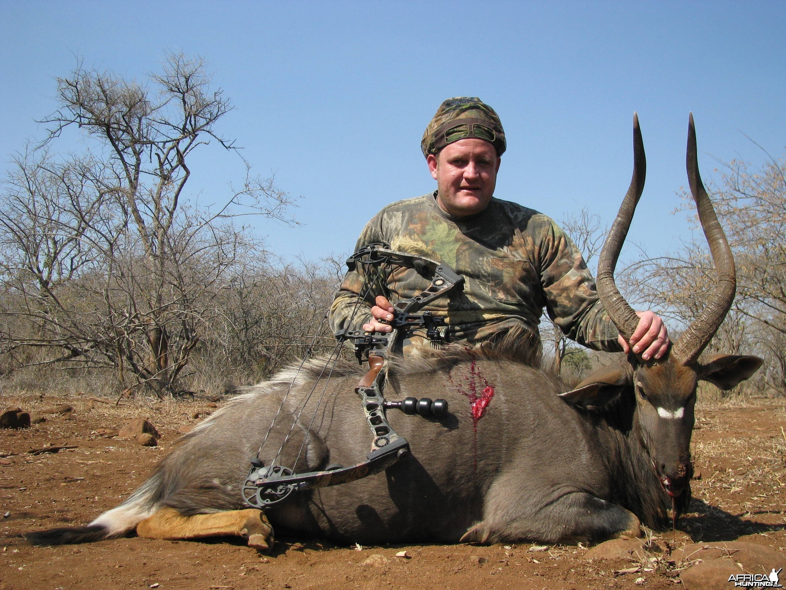 Bowhunting Nyala Shot Placement