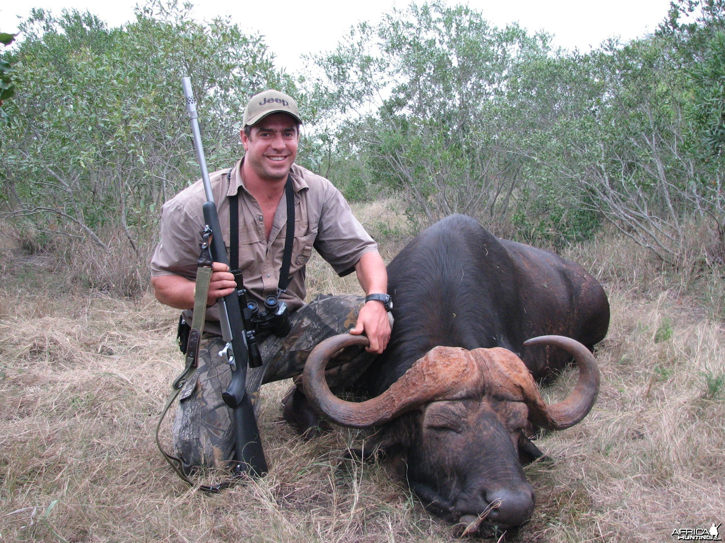 Hunting Cape Buffalo with a recurve